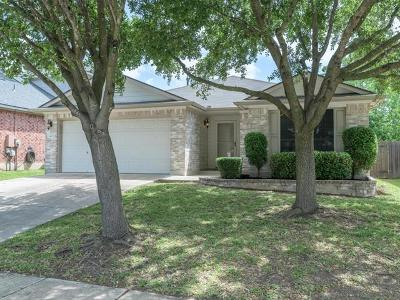 Round Rock Single Family Home For Sale: 3403 Campanella Dr