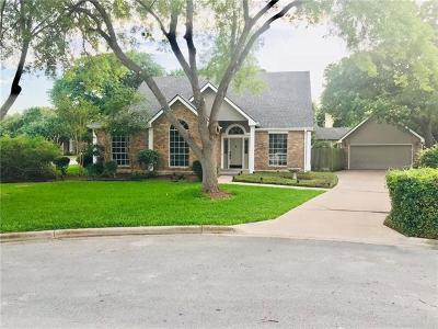 Travis County Single Family Home Pending - Taking Backups: 12204 Sheriff Ct