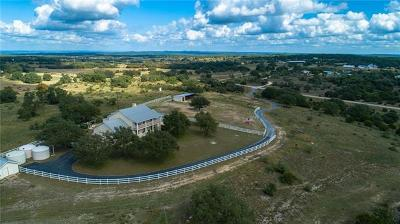Dripping Springs Single Family Home For Sale: 651 Martin Rd