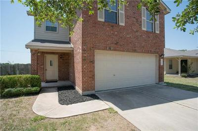 Hutto Single Family Home For Sale: 1005 Easy Cv