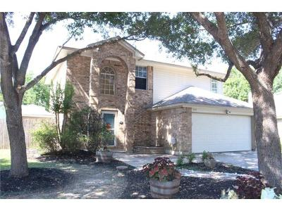 Round Rock Rental For Rent: 2107 Aster Way