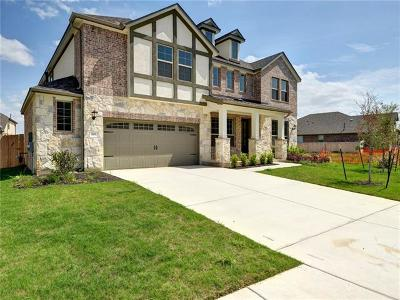 Round Rock Single Family Home For Sale: 805 Expedition Way