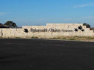 Lockhart Residential Lots & Land For Sale: Lot 11-A Spanish Oaks Blvd