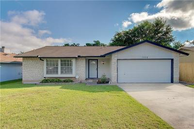 Austin Single Family Home For Sale: 3206 Harpers Ferry Ln