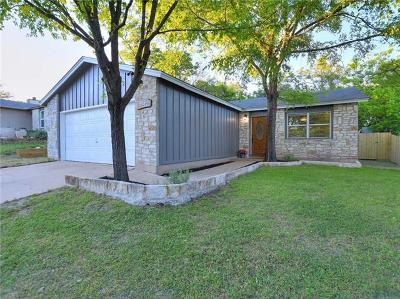 Travis County Single Family Home For Sale: 8312 Gallatin Dr
