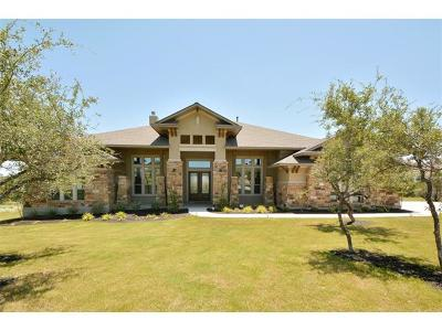 Dripping Springs Single Family Home For Sale: 17108 Avion Dr