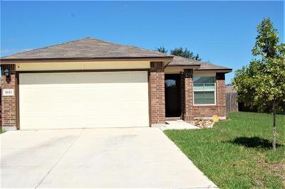 Lockhart Single Family Home For Sale: 1611 Windridge Dr