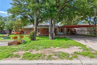 Burnet County Single Family Home For Sale: 1304 Oak St