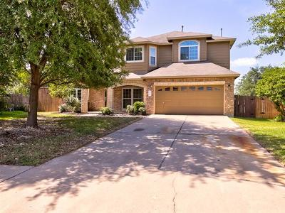 Cedar Park Single Family Home For Sale: 2100 Zoa Dr
