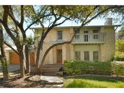 Travis County Single Family Home Pending - Taking Backups: 1503 Falcon Ledge Dr