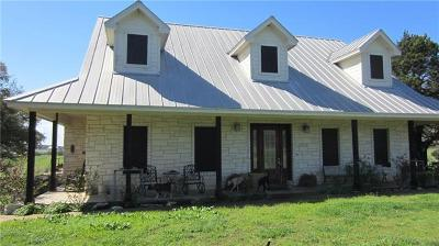Burnet County, Lampasas County, Bell County, Williamson County, llano, Blanco County, Mills County, Hamilton County, San Saba County, Coryell County Farm For Sale: 3955 County Rd 233