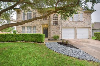 Round Rock Single Family Home For Sale: 2313 Loquat Ln