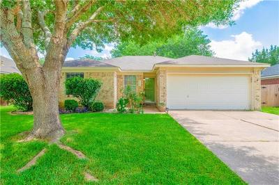 Round Rock Single Family Home For Sale: 3703 Walleye Way