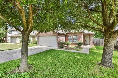Round Rock Single Family Home For Sale: 1328 Water Spaniel Way