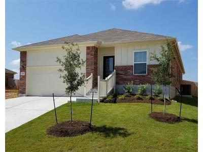 Pflugerville Single Family Home For Sale: 3105 Stirrat Dr