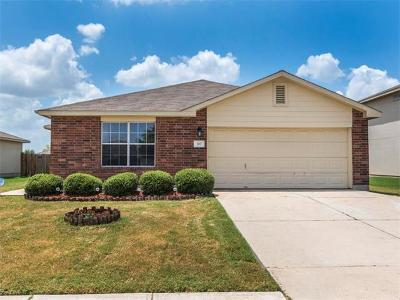 Hutto Single Family Home For Sale: 307 Flinn St