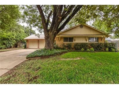 Austin Single Family Home Pending - Taking Backups: 1900 Teakwood Dr