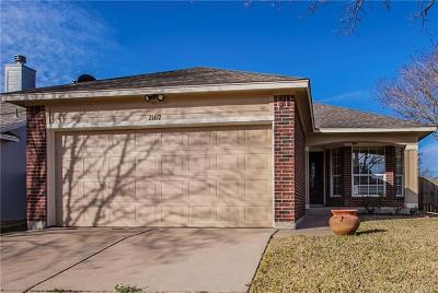Pflugerville Single Family Home For Sale: 21412 Derby Day Ave