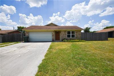 Killeen Single Family Home For Sale: 2204 El Dorado Dr