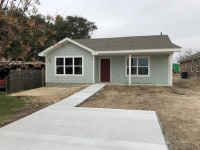 Lampasas Single Family Home For Sale: 1609 E Avenue H