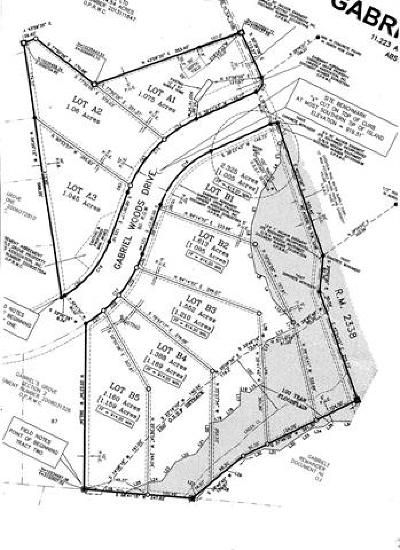 Georgetown Residential Lots & Land For Sale: 100 Gabriel Woods Dr