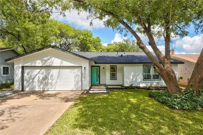 Hays County, Travis County, Williamson County Single Family Home Pending - Taking Backups: 7718 Croftwood Dr