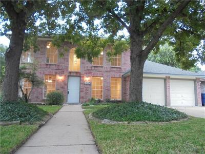 Leander Single Family Home For Sale: 1702 Laurel Ln