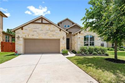 Cedar Park Single Family Home Pending - Taking Backups: 625 Spanish Mustang Dr
