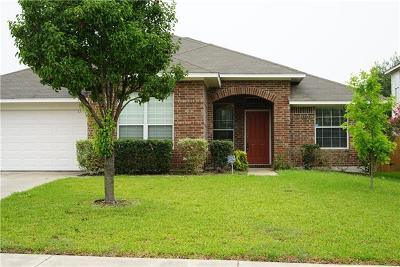 Hutto TX Single Family Home For Sale: $239,990