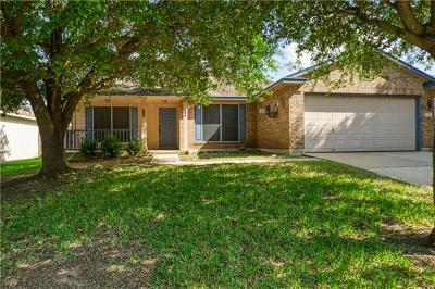 Round Rock Single Family Home Pending - Taking Backups: 2518 Vernell Way