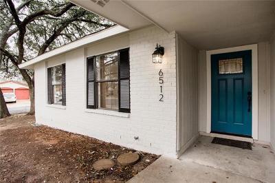 Austin Single Family Home For Sale: 6512 Starstreak Dr