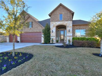 Leander Single Family Home For Sale: 2829 Ante Up Cv