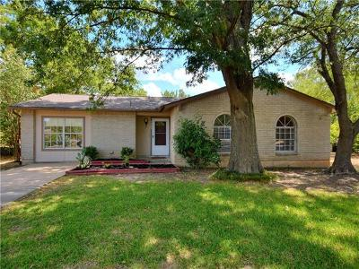 Round Rock Single Family Home For Sale: 1305 Glenwood Cv