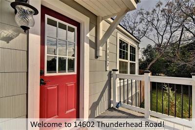 Single Family Home For Sale: 14602 Thunderhead Rd