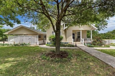 Williamson County Single Family Home Pending - Taking Backups: 400 W Avenue G