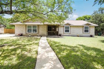 Cedar Park Single Family Home Pending - Taking Backups: 704 Prize Oaks Dr