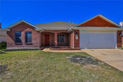 Pflugerville Single Family Home For Sale: 1412 Haley Gray Dr