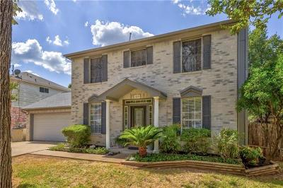 Cedar Park Single Family Home Pending - Taking Backups: 1803 Lion Heart Dr