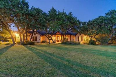 Dripping Springs Single Family Home For Sale: 12353 Triple Creek Cir