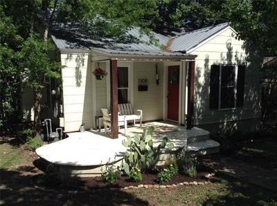 Travis County Single Family Home Pending - Taking Backups: 3306 Werner Ave