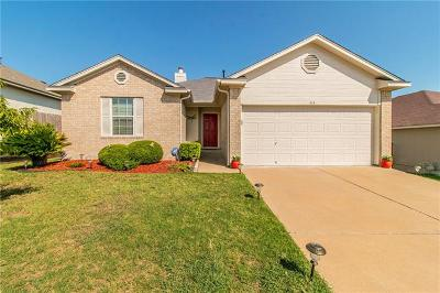 Hutto Single Family Home Pending - Taking Backups: 413 Estate Dr