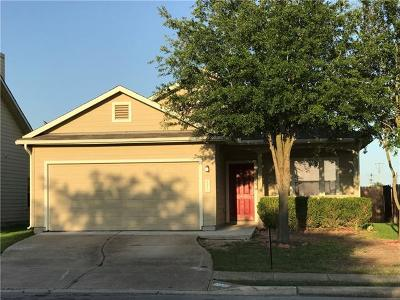 Manor Single Family Home Pending - Taking Backups: 12123 Bastrop St