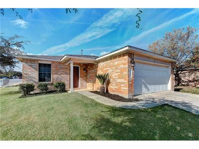 Pflugerville Single Family Home Pending - Taking Backups: 17400 Dashwood Creek Dr