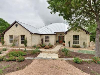 Dripping Springs Single Family Home For Sale: 12251 Fitzhugh Pl