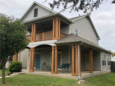 San Marcos Single Family Home For Sale: 236 Newberry Trl