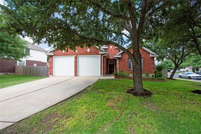 Round Rock Single Family Home For Sale: 8021 Whitworth Ln