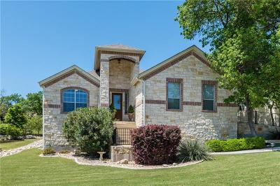 Leander Single Family Home For Sale: 2303 First Vw
