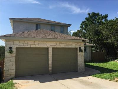 Austin Single Family Home For Sale: 3012 Spotted Wolf Trl