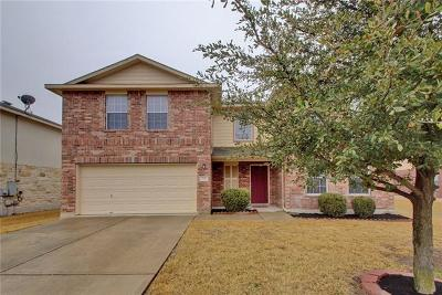 Hutto Single Family Home For Sale: 221 Herrera Trl