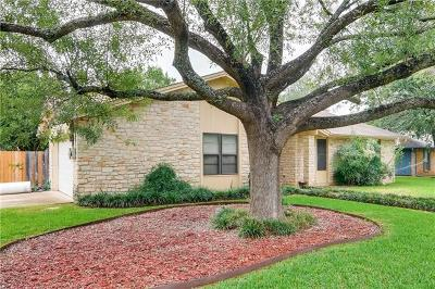 Georgetown Single Family Home For Sale: 3309 Buffalo Springs Trl